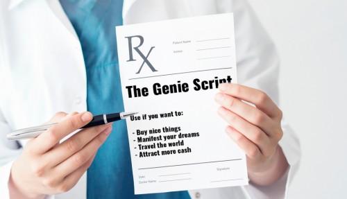 Genie Script manifestation program