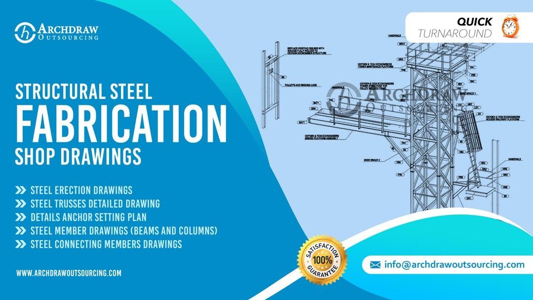 Steel Fabrication Shop Drawings