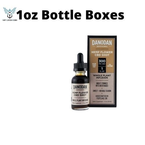 1oz Bottle Boxes wholesale In USA