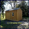 12 x 20 Garden Shed - On Nome Lot!
