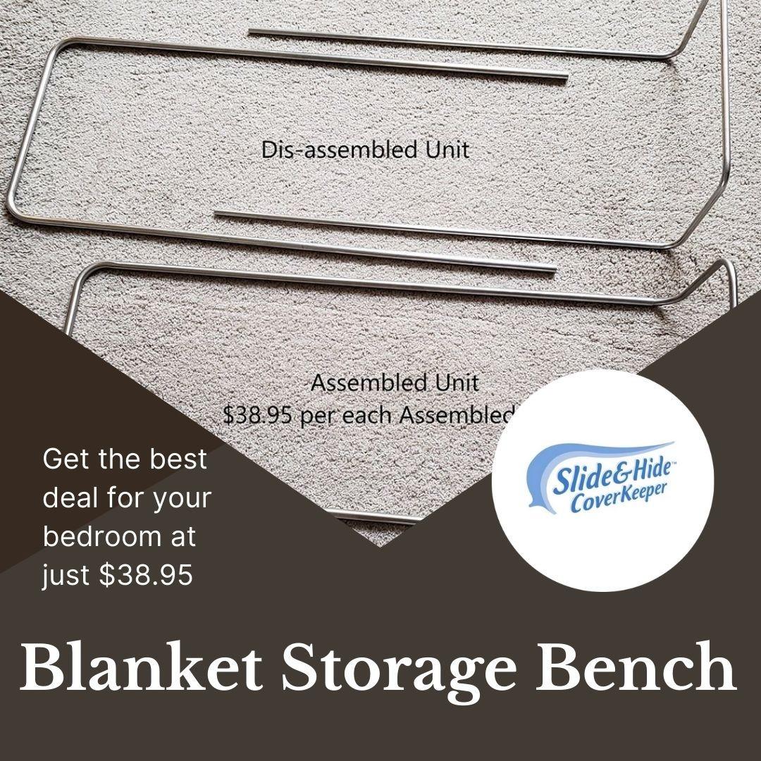 Get Blanket Storage Bench