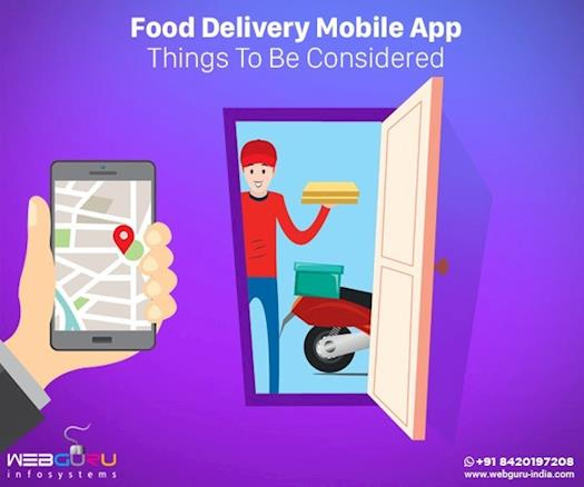 Food Delivery Mobile App: Things To Be Considered
