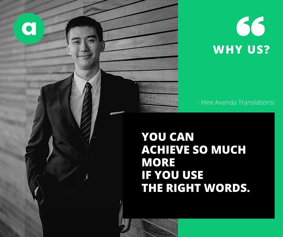Choose Axenda - Your Trusted Language Partner