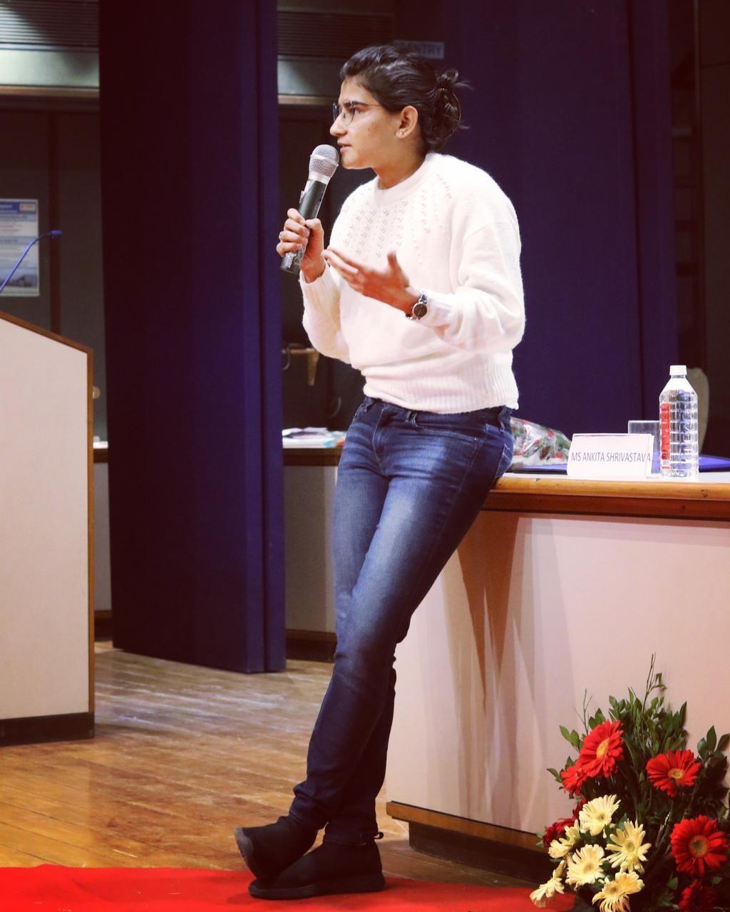 Ankita Shrivastava Experience. Liver donor and international athlete