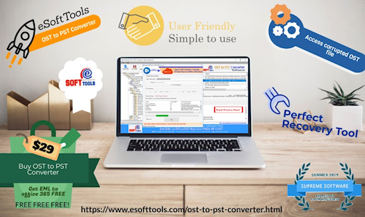 Recover and Convert OST to PST