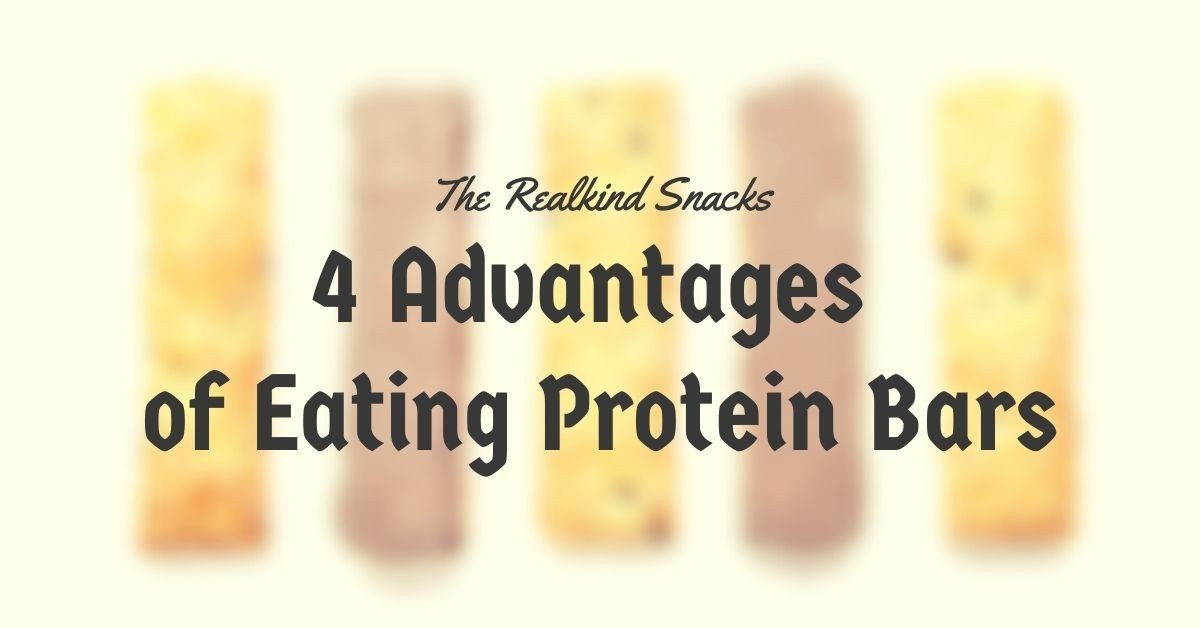 4 Advantages of Eating Protein Bars
