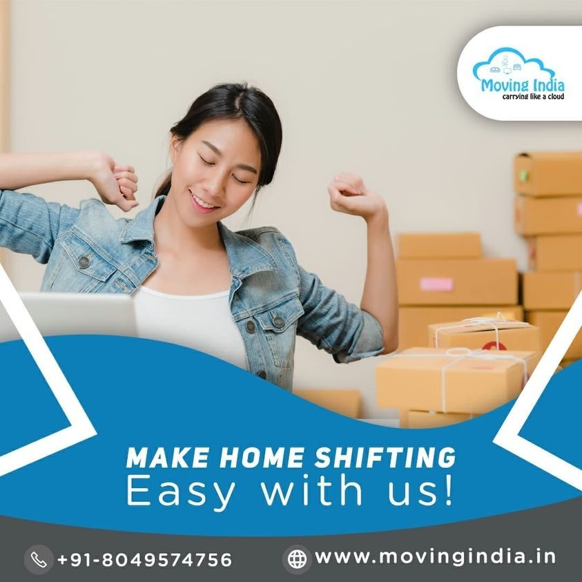 MAKE HOME SHIFTING Easy with us!