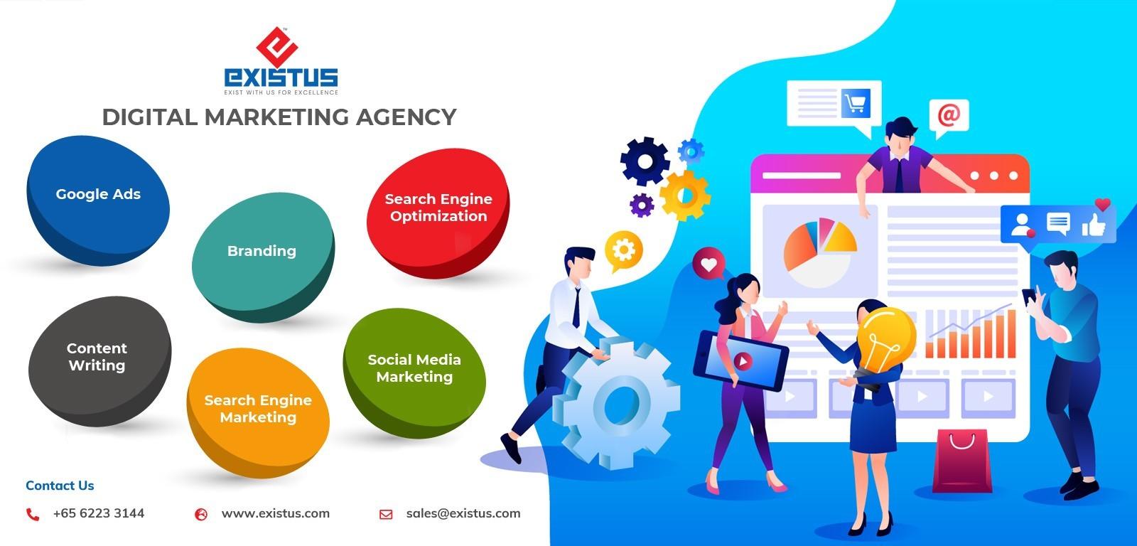 Digital Marketing Agency in Singapore