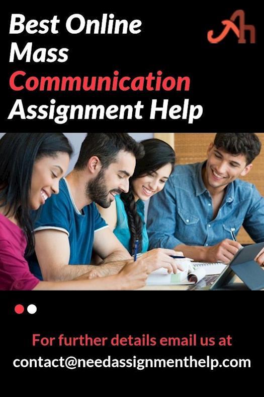 Best Online Mass Communication Assignment Help