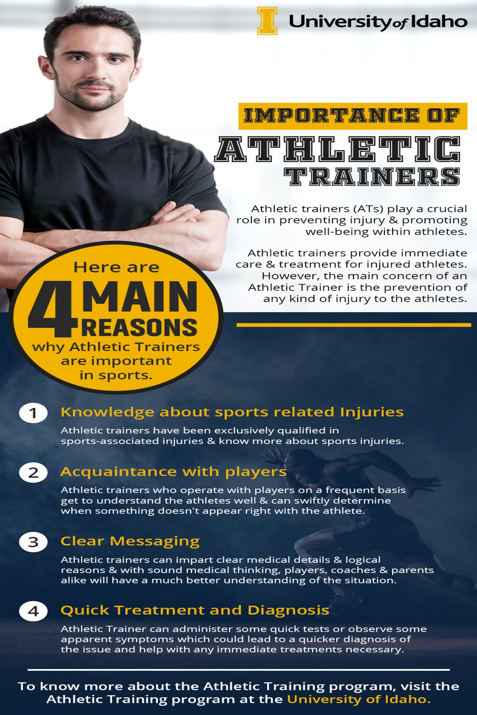 Athletic Trainers in sports