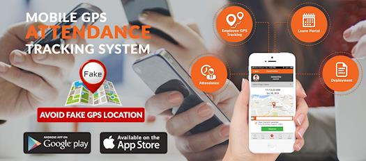Mobile Time Attendance GPS Tracking System
