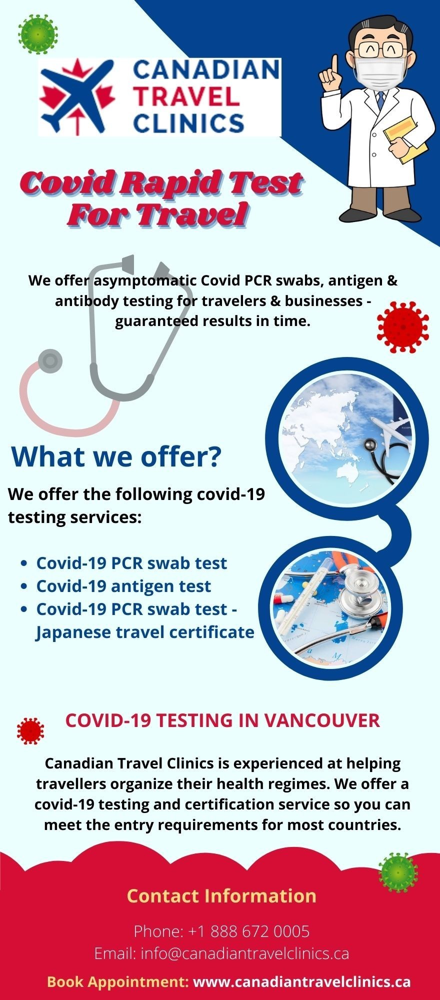 Covid Rapid Test For Travel   Vancouver Travel Clinic