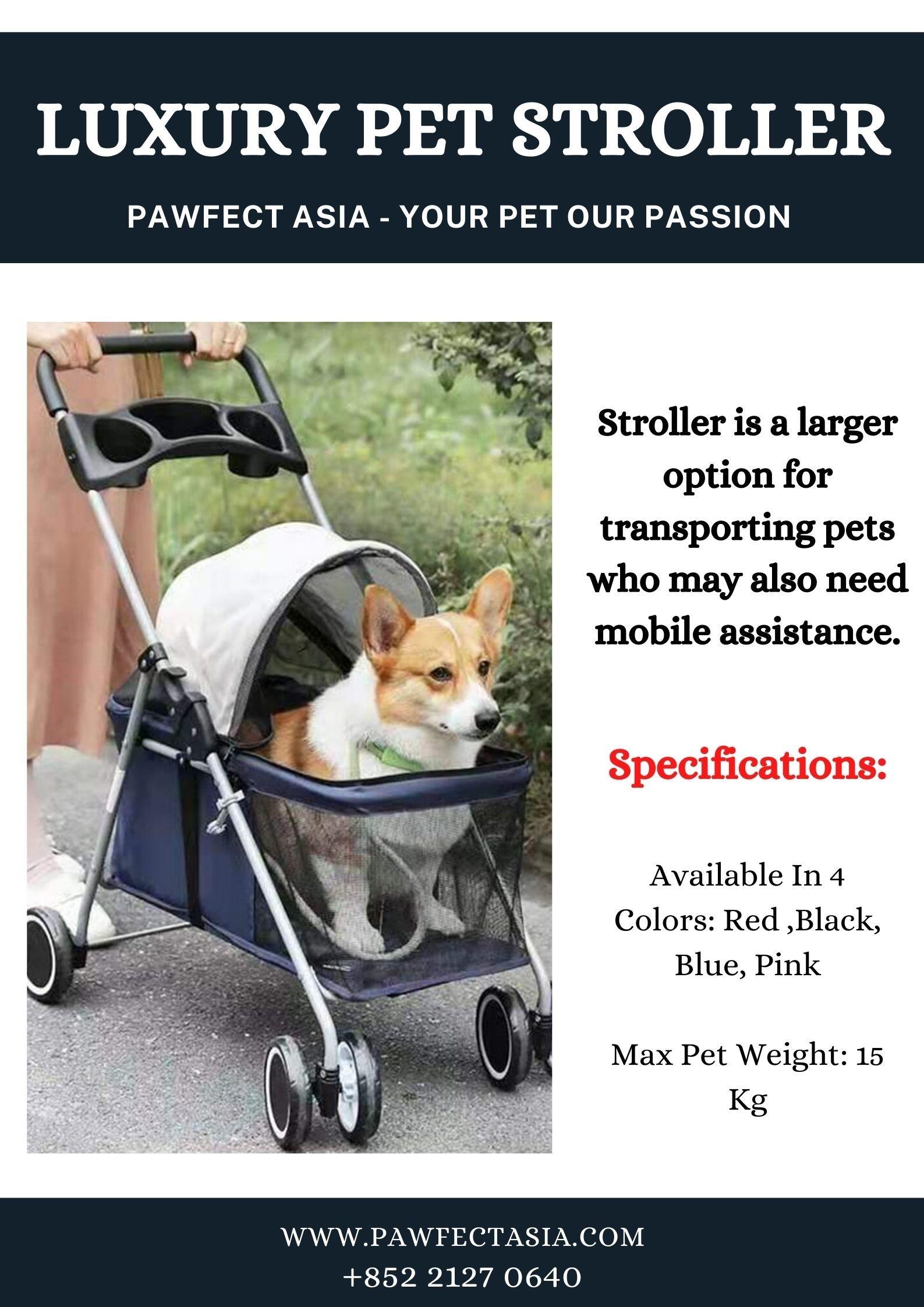 Best Luxury Pet Stroller | Pawfect Asia