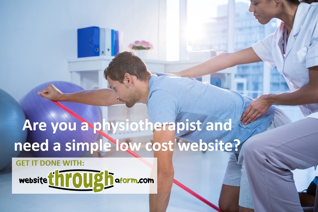 Are You A Physiotherapist Who Needs A Simple Website