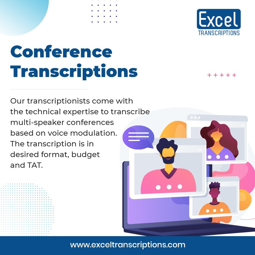 Conference Transcription Services USA - Excel Transcriptions USA