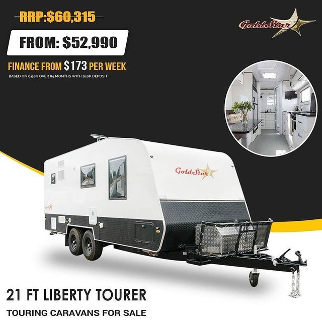 21 FT Liberty Tourer Caravan | Touring Caravans For Sale | GoldStar Rv Adelaide