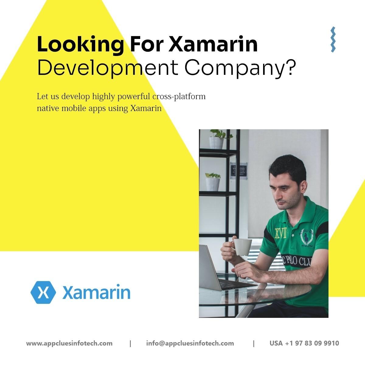 Top Xamarin App Development Company in USA