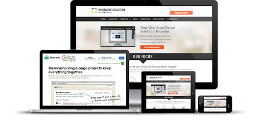 One of the Best Outsource Web Design Company - Innonline Solution