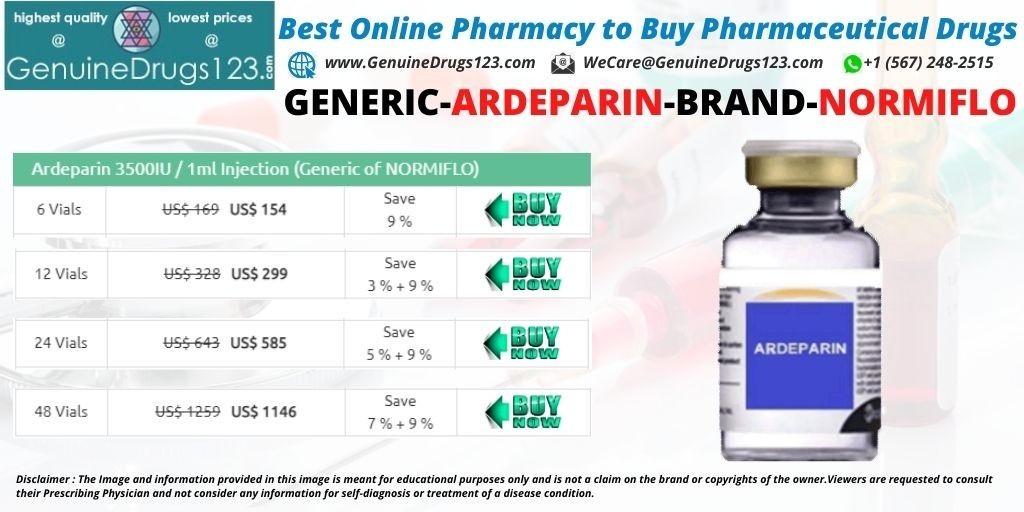 Buy Ardeparin Normiflo Injection online