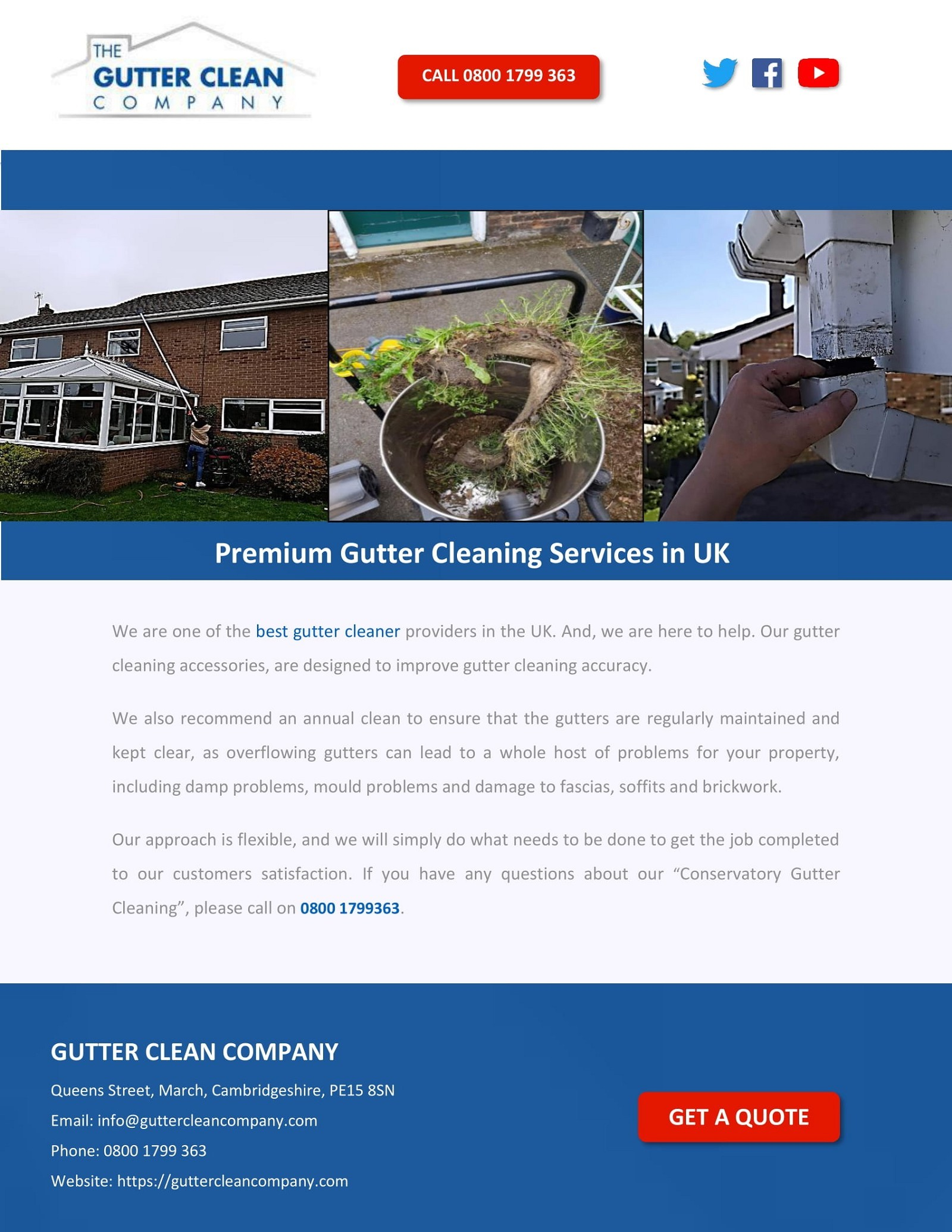 Premium Gutter Cleaning Services in UK