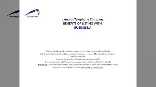 BusinessJA uses an infrastructure that can deliver your content quickly and cleanly.