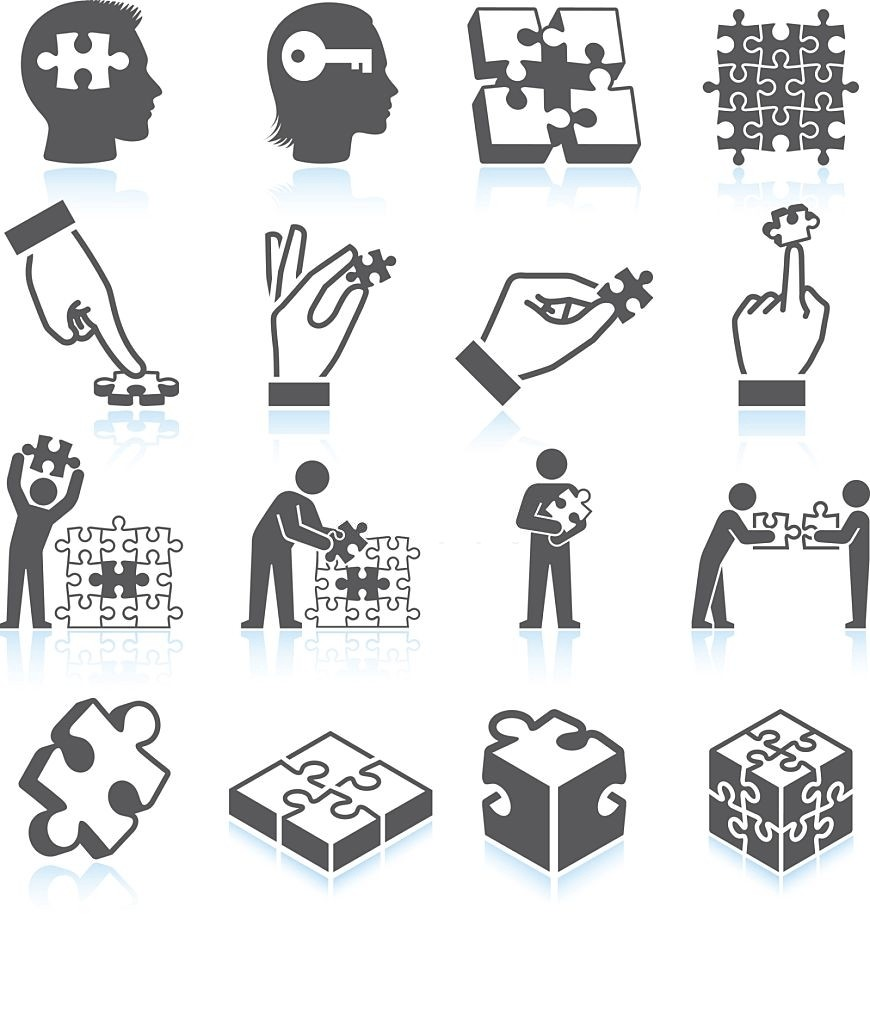 National Puzzle Day Clipart