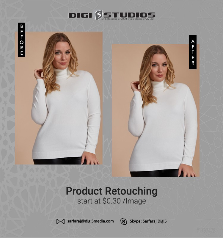 Is photo retouching a good thing to use?
