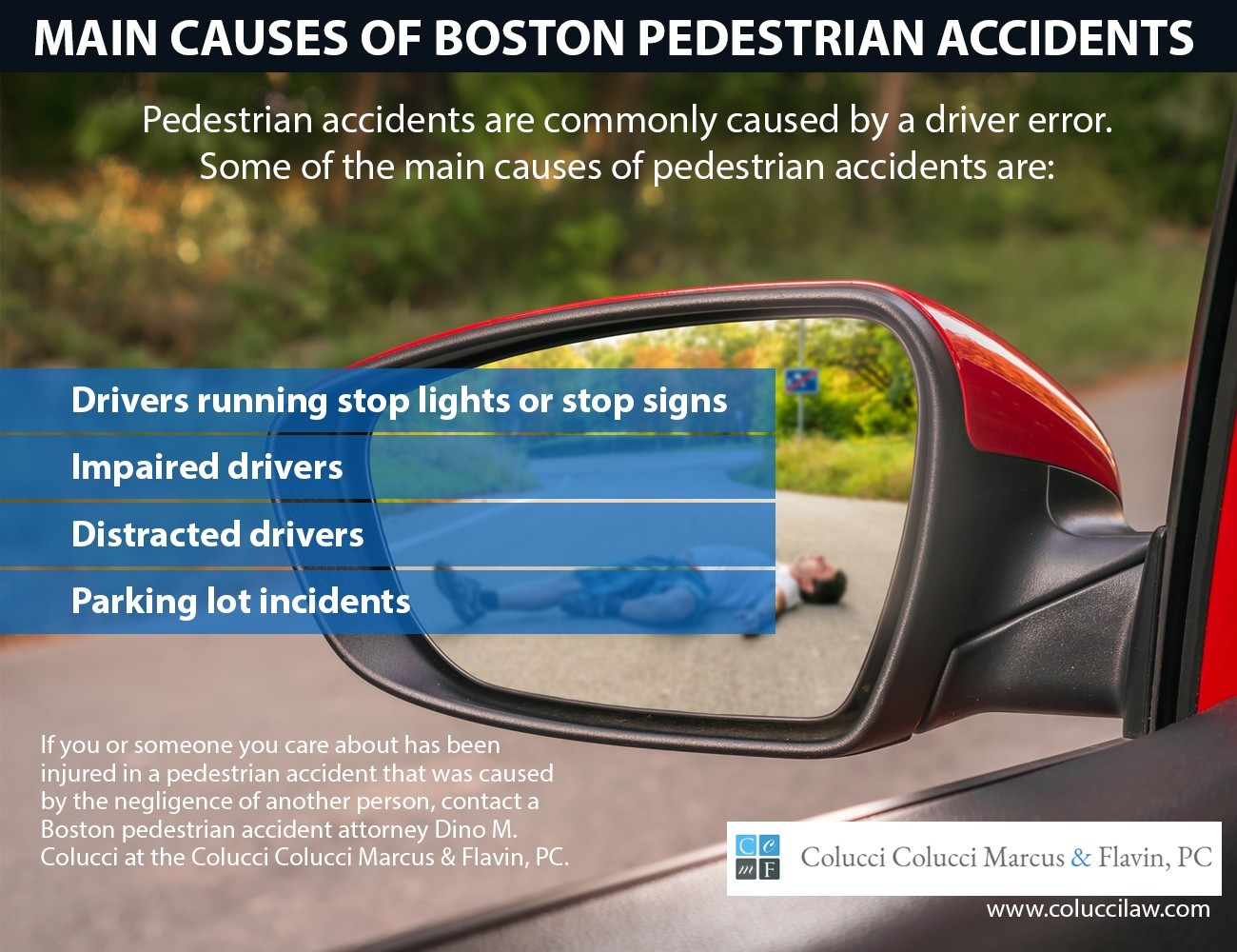 Main Causes Of Boston Pedestrian Accidents