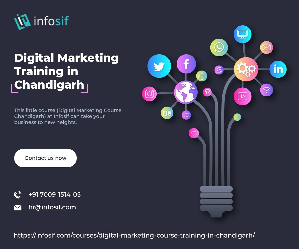 Digital Marketing Training in Chandigarh - Infosif