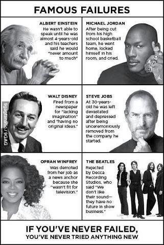 Failure Can Be A Precursor to Big Success!