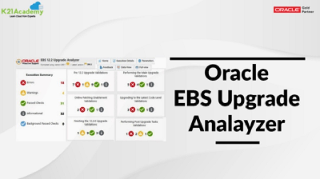 Oracle EBS Upgrade Analyzer Tool | Methodology