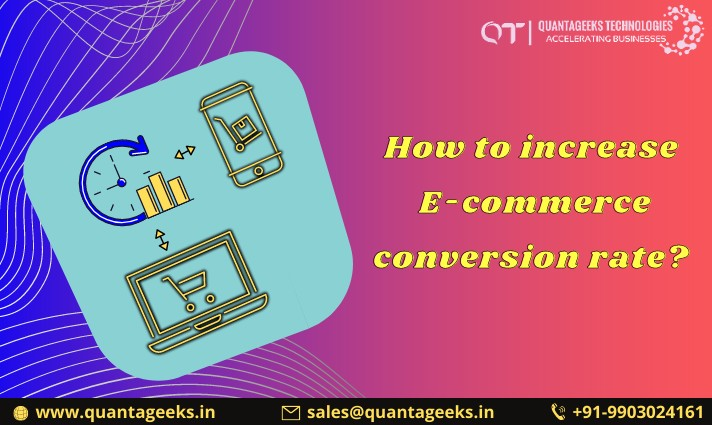 How to increase the conversion rate of eCommerce?
