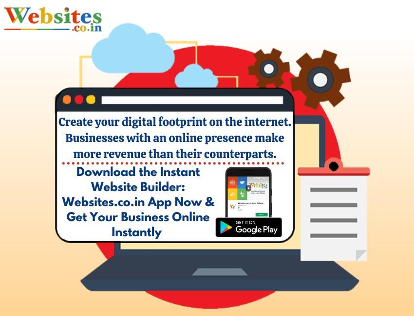 Create your digital footprint on the internet