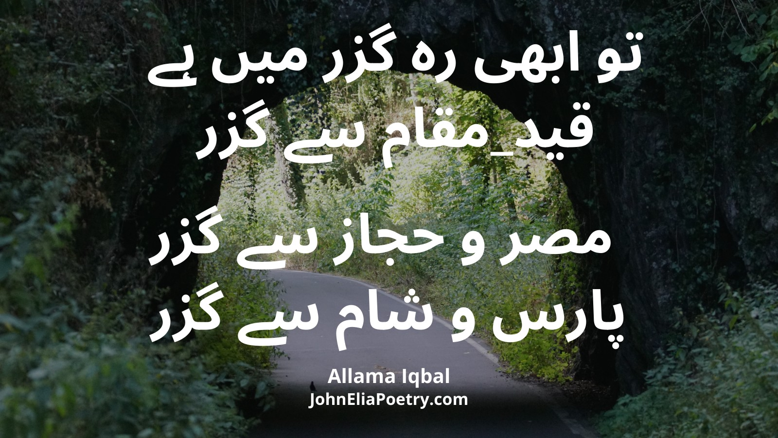 To Abhi Reh Guzar Mein Hai Qad-e-Muqam Se Guzar
