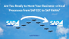 Move your business-critical processes from SAP ECC to SAP HANA