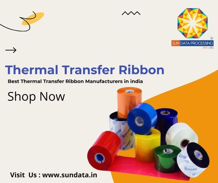 Thermal Transfer Ribbon Manufacturers in india