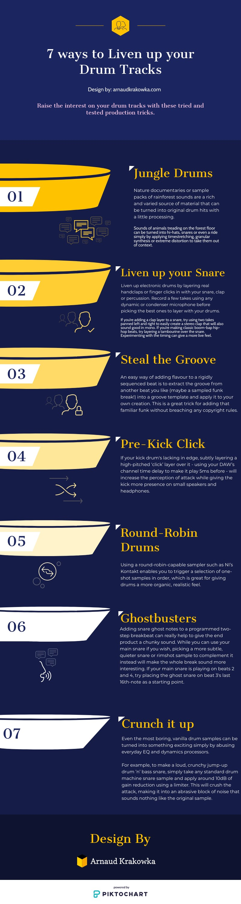 Top ways to liven up your drum tracks