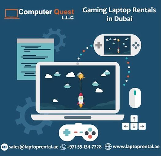 Gaming Laptop Rental in Dubai UAE