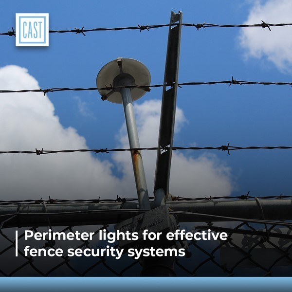 Perimeter lighting and Fence security systems