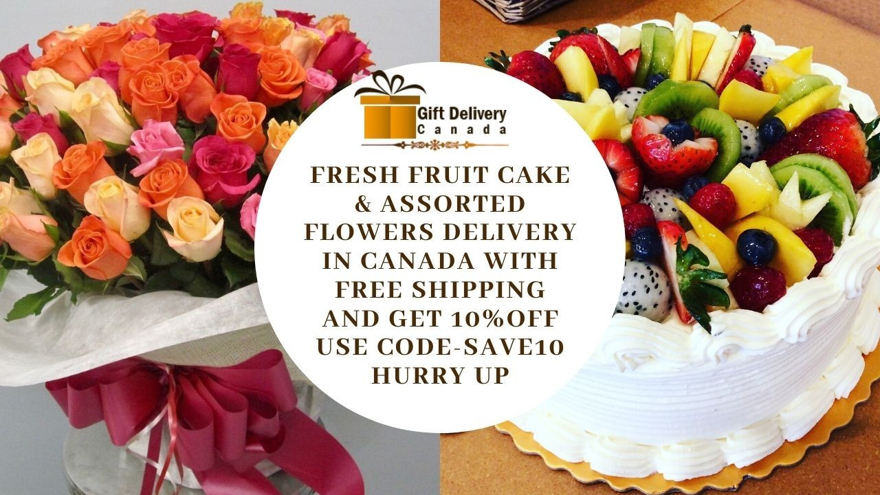 Flower & Cakes Delivery in Canada