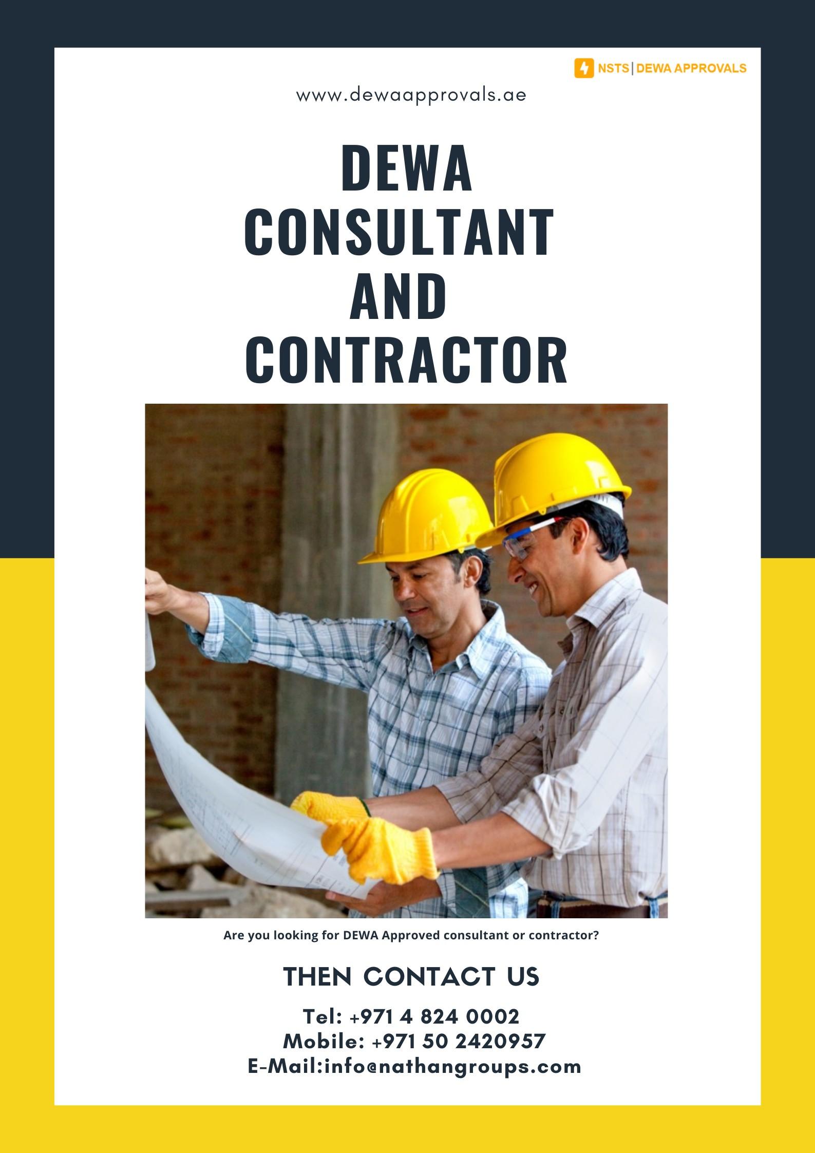 DEWA Consultant and contractor