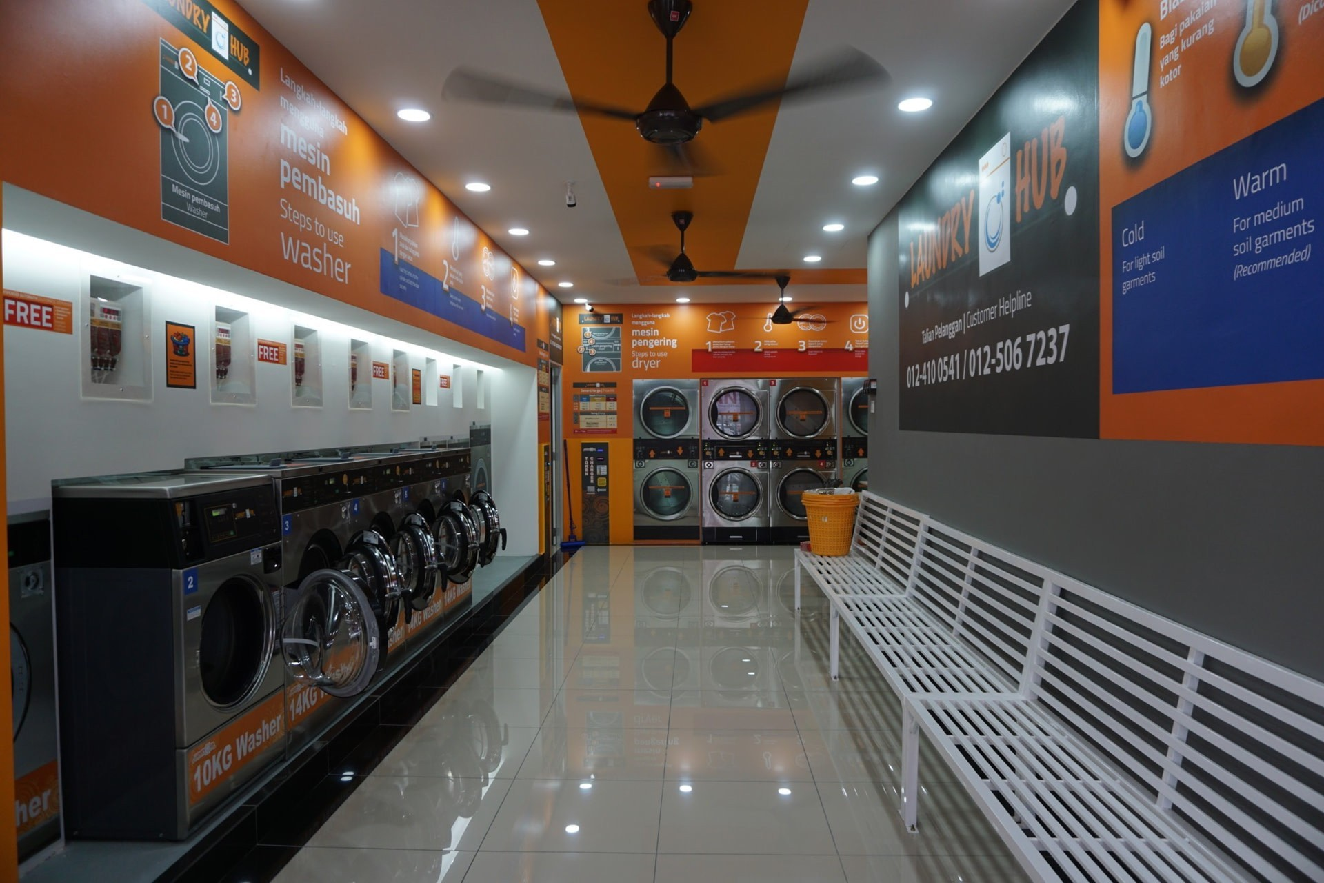Coin Laundry Supplier in Malaysia
