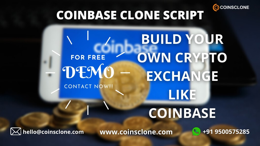 Coinbase Clone Script - To create your own crypto exchange platform like coinbase