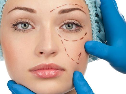 Cosmetic face procedure