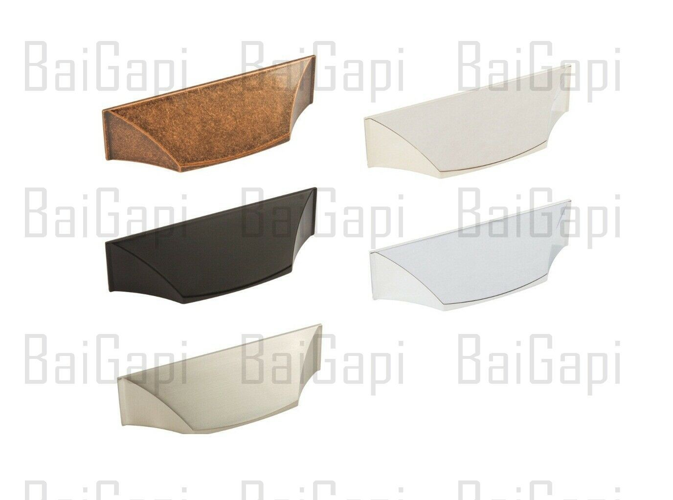 cup pulls on cabinet doors