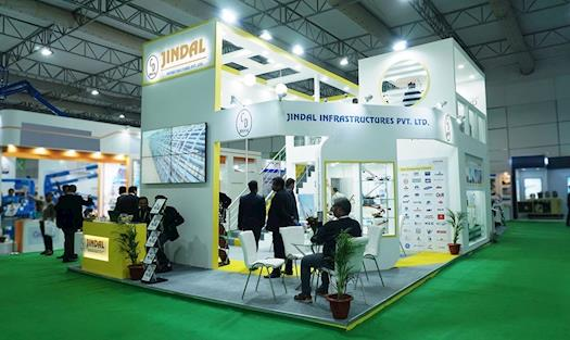 Exhibition Booth of Jindal Infrastructures