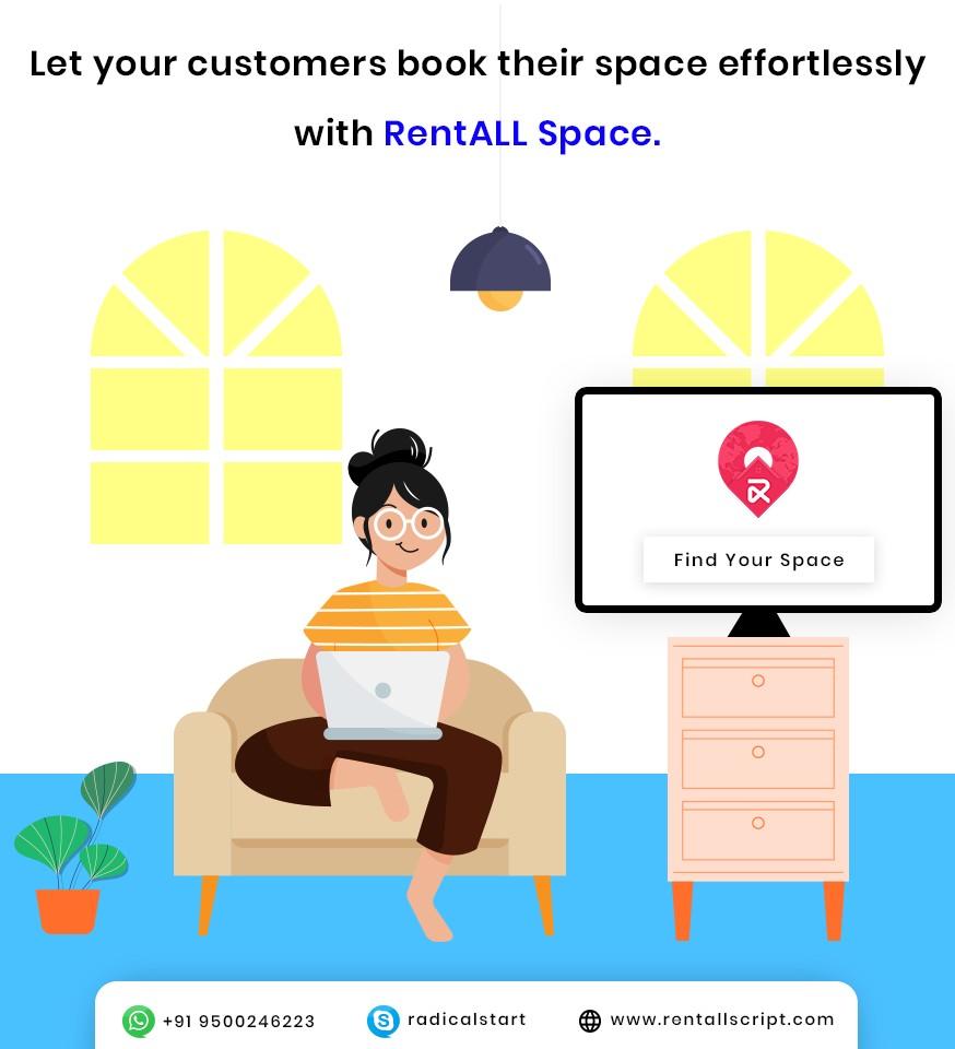 RentALL Space - Space Rental Script