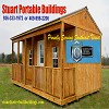 Stuart Portable, Side Porch Cabin Great 4 Backyard Retreat!
