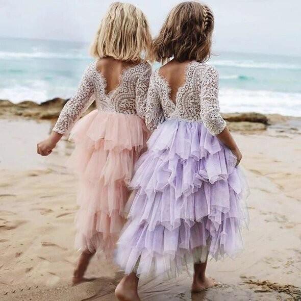 Summer Lace Girl Dress
