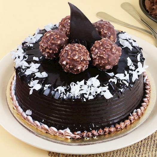 Chocolate Rocher Cake